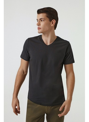 D'S Damat Slim Fit T-Shirt Antrasit